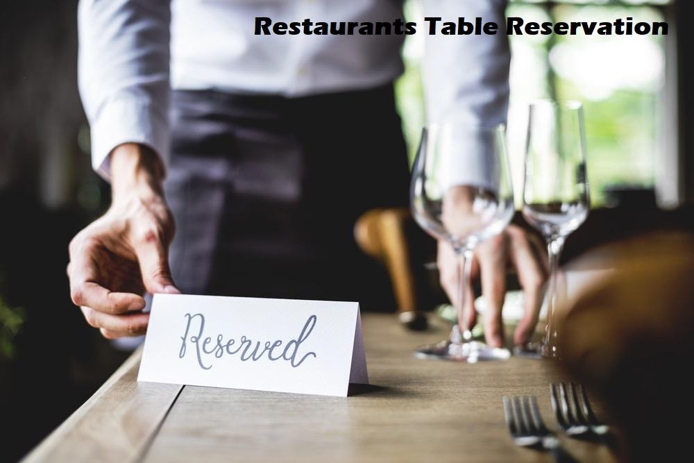Restaurants Table Reservation Cherryberryrms
