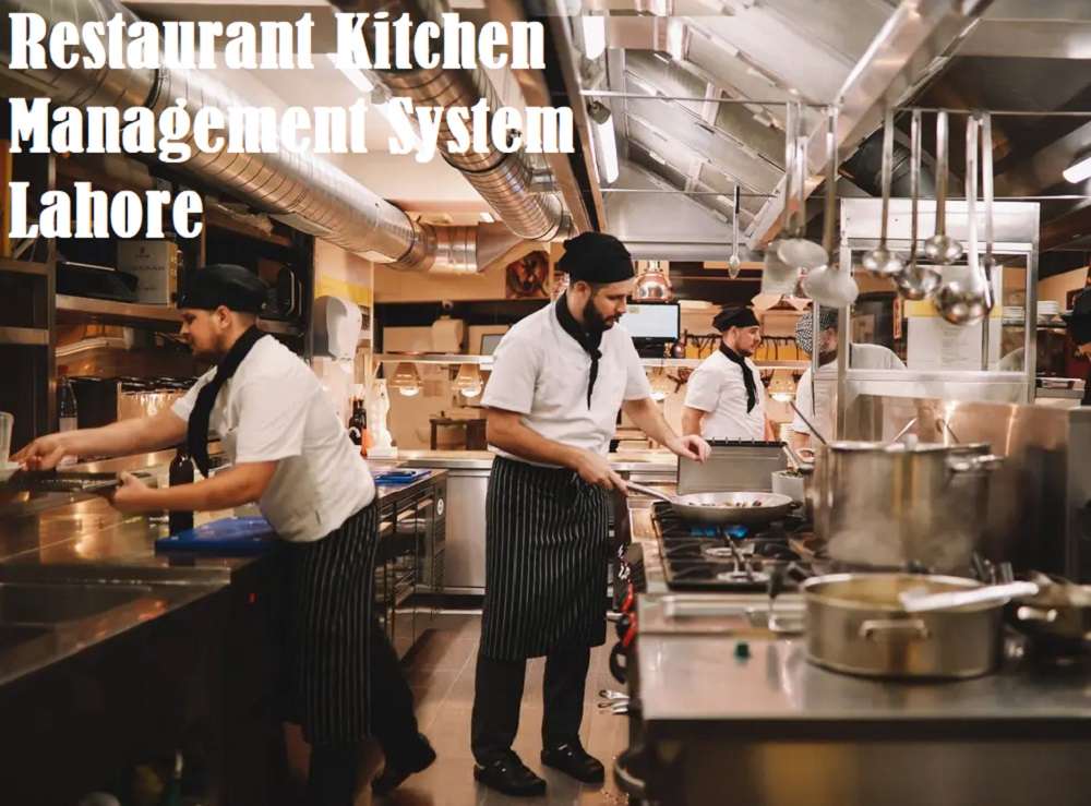 Restaurant Kitchen Management System Lahore Cherry Berry RMS