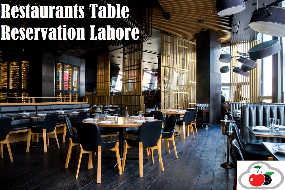 Restaurants Table Reservation Lahore Cherry Berry RMS