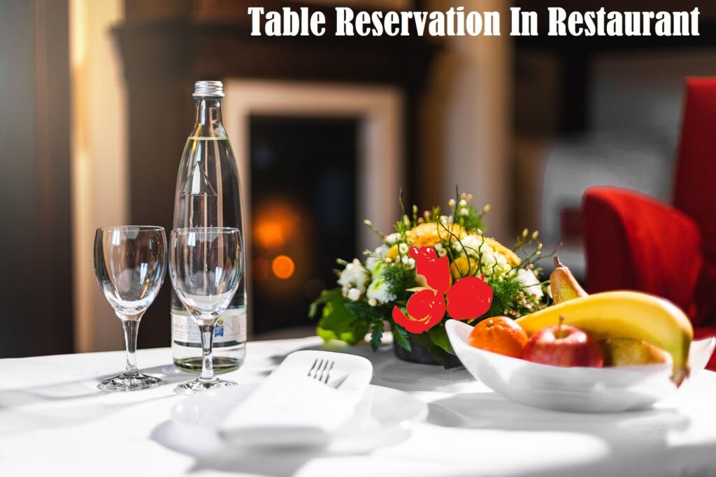 Table-Reservation-In-Restaurant Cherry Berry RMS