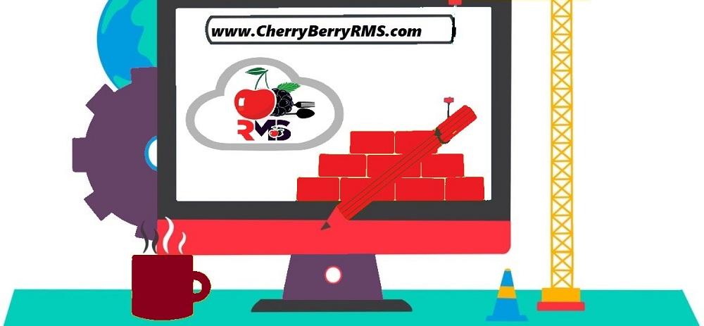 Restaurant Website in Lahore Cherry Berry RMS