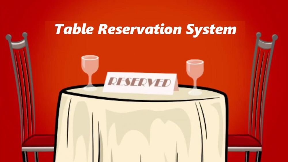 Table Reservation System Cherry Berry RMS